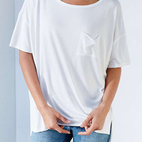 Cupshe Cool Feeling High Low T-shirt