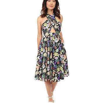 Rachel Antonoff Samantha Wrap Halter Dress