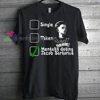 Dating Jacob Sartorius T-shirt gift Tees adult unisex custom clothing Size