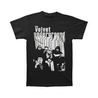 Velvet Underground Men's  Band With Nico Slim Fit T-shirt Coal