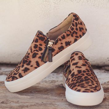 Not Rated Leopard Timor Sneakers