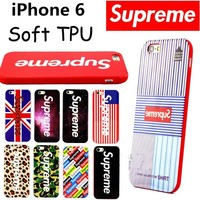 Supreme Soft TPU Cover Cases For iphone5 5s SE 6 6s 6Plus 6s Plus Phone Cases
