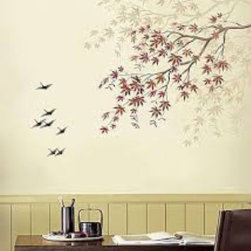 Customize Maple Tree Branch Stencils