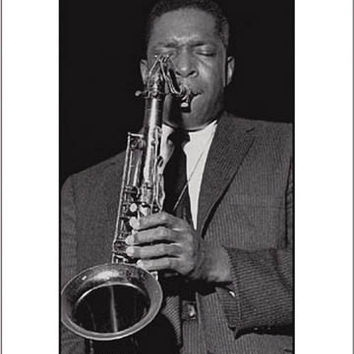 John Coltrane Celebrity Poster by Ted Williams