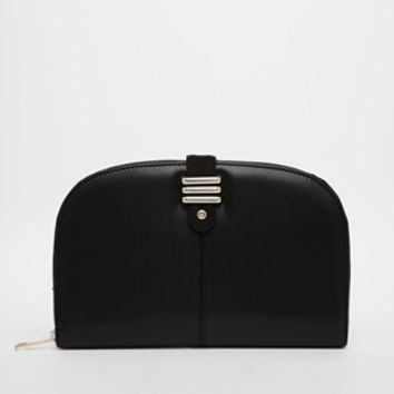 Miss KG Treasure rounded clutch with clasp