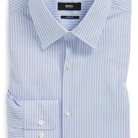 Men's BOSS 'Marlow' Sharp Fit Stripe Dress Shirt