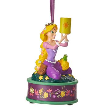 Disney 2018 Rapunzel Singing Sketchbook Christmas Ornament New with Tags