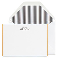 From the Groom Noteset