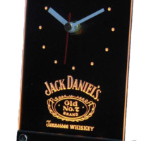 Jack Daniels Whiskey Bar 3D LED Table Desk Clock