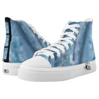 Blue Dreams High Top Sneakers