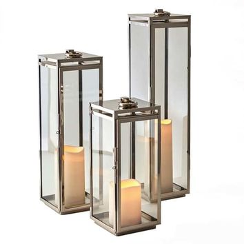 Bungalow Marine Grade Lantern, 24"