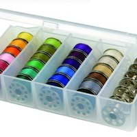 ArtBin  Bobbin Box-Clear Sewing Storage Container, 8155AB