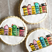 Hand painted Sugar Cookie dozen
