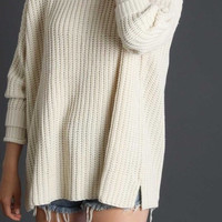 The Knit Beige Sweater
