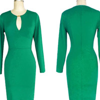 Dress-Green Vintage Rockabilly