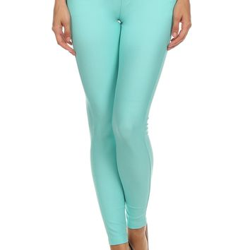 Long Jeggings for Women Skinny Stretch Fitted Pull On Jeggings Pants