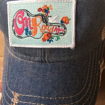 Judith March On the Road Again hat
