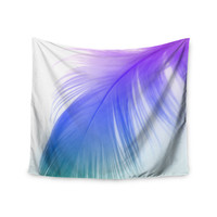 "Alison Coxon ""Feather Colour"" Wall Tapestry"