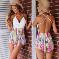 Sexy Shorts Rompers