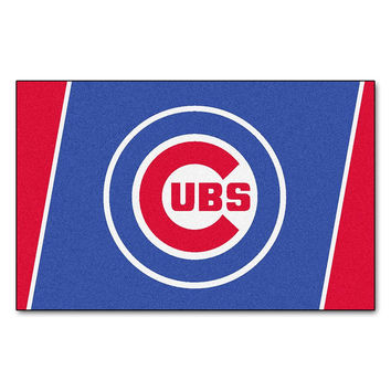 Chicago Cubs MLB Floor Rug (4'x6')