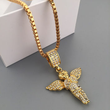 Shiny Jewelry Gift New Arrival Stylish Fashion Hip-hop Club Necklace [6542773187]