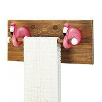Flamingo Towel Rack