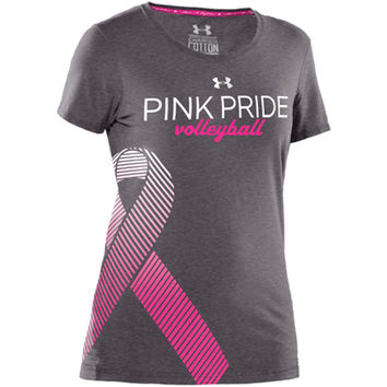 Casual Wear | Under Armour Pink Pride Volleyball T-Shirt