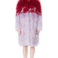 WALK OF SHAME GUILLOTINE FUR COAT - WOMEN - WALK OF SHAME - OPENING CEREMONY