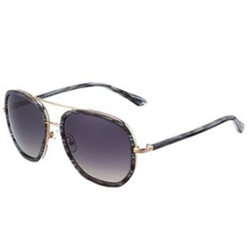 Tom Ford Cyrille Aviator Grey Frame Sunglasses 307896