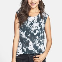 ANM Destroyed Tie Dye Muscle Tank (Juniors) (Online Only) | Nordstrom