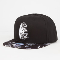 Last Kings Anarchy Mens Snapback Hat Black One Size For Men 26966710001