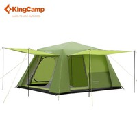 8-persons 2-rooms Family Camping Cabin Tent