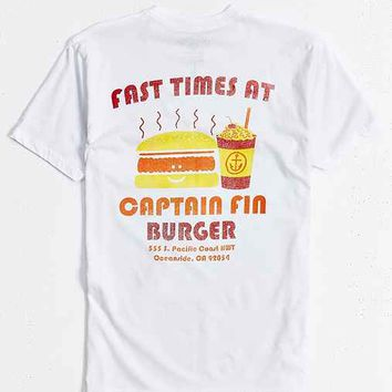Captain Fin Burger Biz Tee