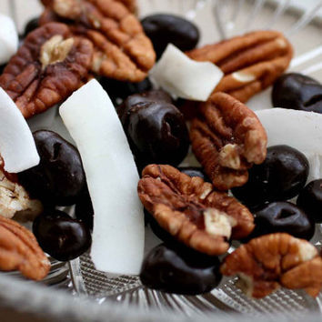 Dark Chocolate Coconut Snack Mix.