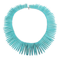 Turquoise Statement Necklace Cool Simple Jewelry