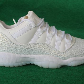 Air Jordan 11 Low PRM GS  Basketball Sneaker