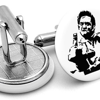 Johnny Cash Cufflinks