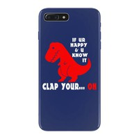 funny dino iPhone 7 Plus Case