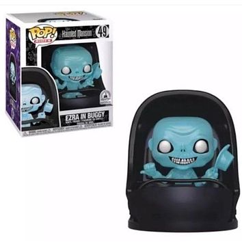 Disney Parks Exclusive Haunted Mansion Ezra in Buggy Funko Pop New with Box
