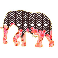 Elephant Animal Print No One
