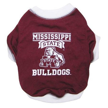 Mississippi State Bulldogs Pet Shirt SM