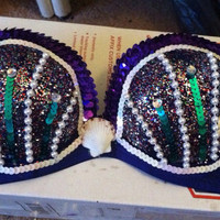Mermaid Rave Bra - Ultra Music Festival EDC EDM Plurmaid