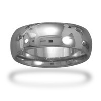 Tungsten Carbide 8mm Ring