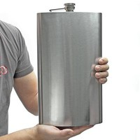 Sasquatch 128oz Extremely Large Flask (Engravable)