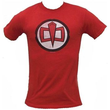 DCCK2JE The Greatest American Hero TV Show Series Logo Red T-shirt Tee Shirt