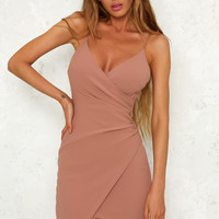 Quicksand Dress Blush