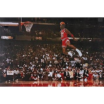 MICHAEL JORDAN POSTER Amazing Dunk RARE HOT NEW 24x36