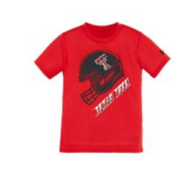 Under Armour Boys' Infant Texas Tech Helmet T-Shirt