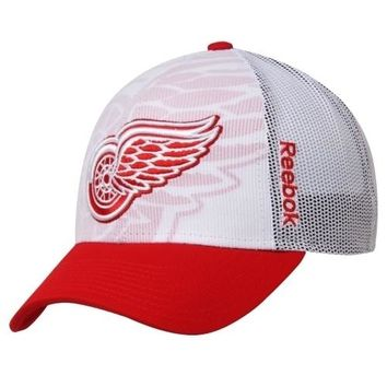 NHL Detroit Red Wings Youth Adjustable Draft Hat