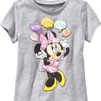 "Old Navy Disney Minnie Mouse ""Bows"" Tees For Baby"